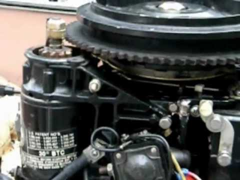 25 Hp Johnson Outboard Parts Diagram Jayco Eagle Wiring Map Starter Just Spins? You Might Need Your Bendix Lubed Up. How To Do It. Repair ...
