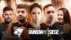 Virtus.pro открывает состав по Rainbow Six Siege