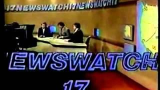 WTVO Newswatch 17 Open and Close 1984