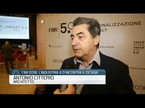 Fimi 2016 antonio citterio architetto youtube for Antonio citterio architetto