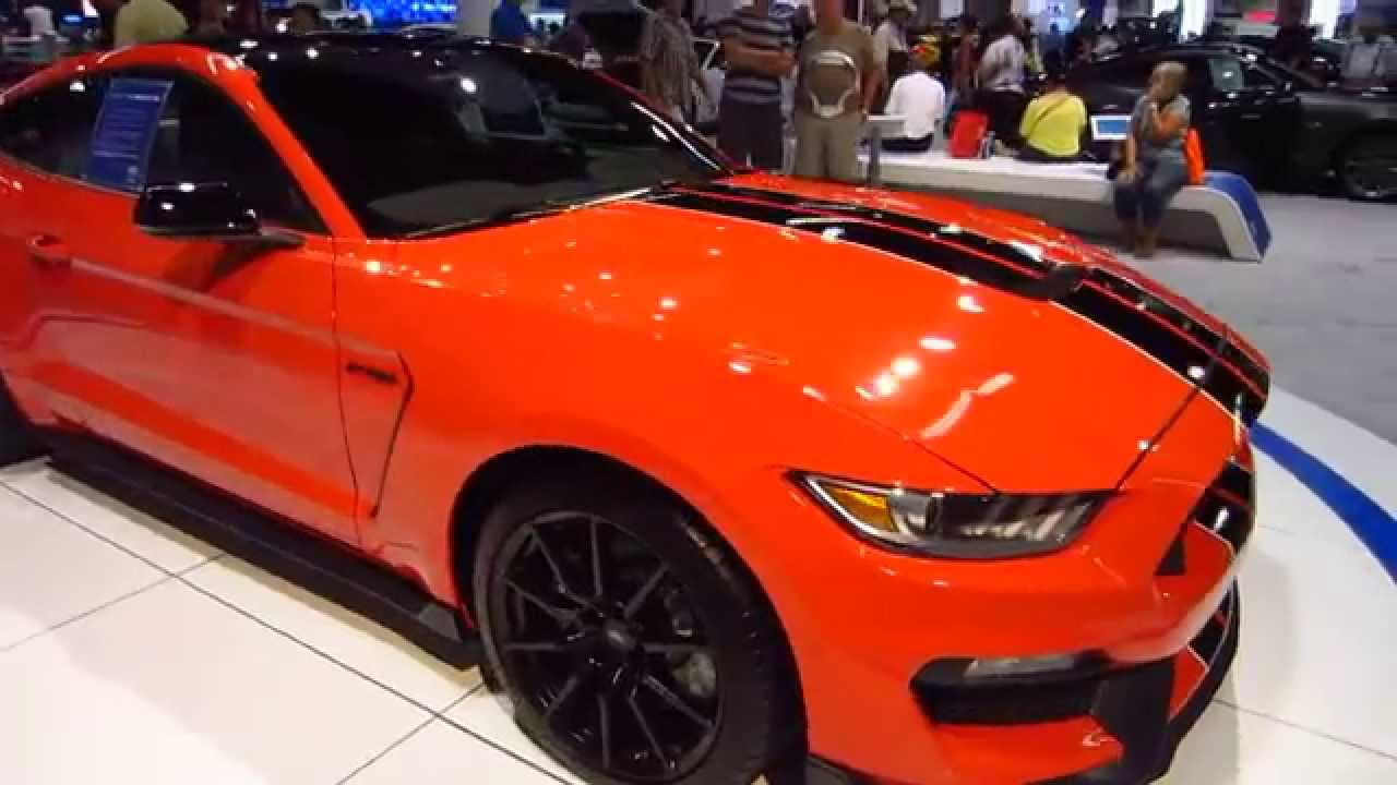 new 2016 ford mustang shelby gt 350 oc auto show anaheim orange county california 10 16 15. Black Bedroom Furniture Sets. Home Design Ideas