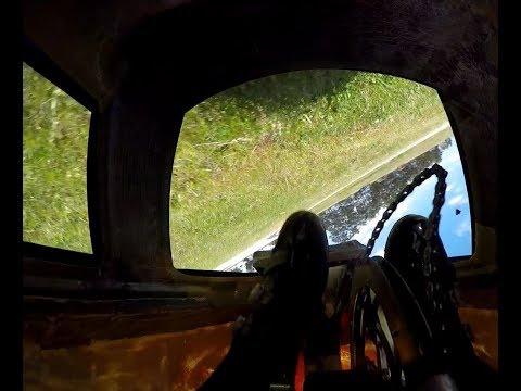 Onboard whipstick crash// Casey fields round 5