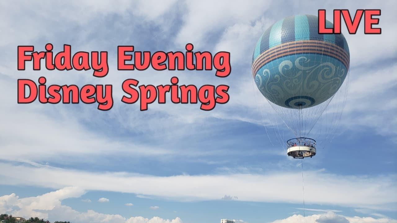 Friday Evening Disney Springs