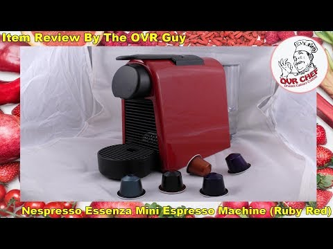 Nespresso Essenza Mini Espresso Machine (Red) Review