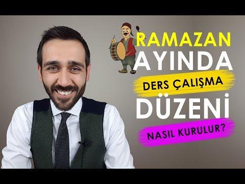 Ramazan Ayında Ders Çalışma Düzeni Nasıl Kurulur?