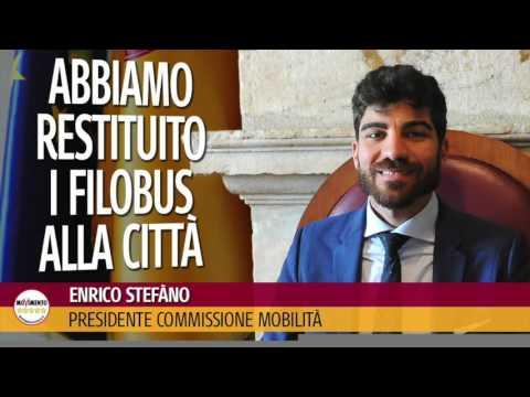 Enrico Stefàno (M5S Roma) - Radio Cusano Campus- 28/03/2017