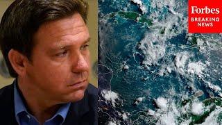Ron DeSantis Details Impact Of Hurricane Elsa