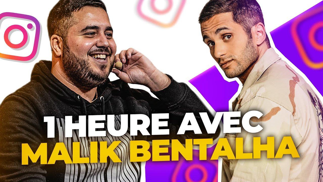 🎙 1 HEURE AVEC MALIK BENTALHA ! (Humoriste)