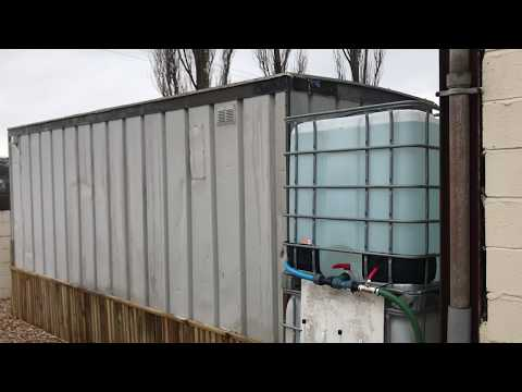 IBC Tanks ,Storage for window cleaning