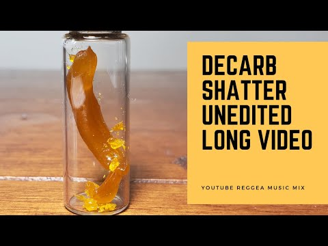 Watch Shatter Melt for 1 Hour - Decarb Shatter Unedited Long