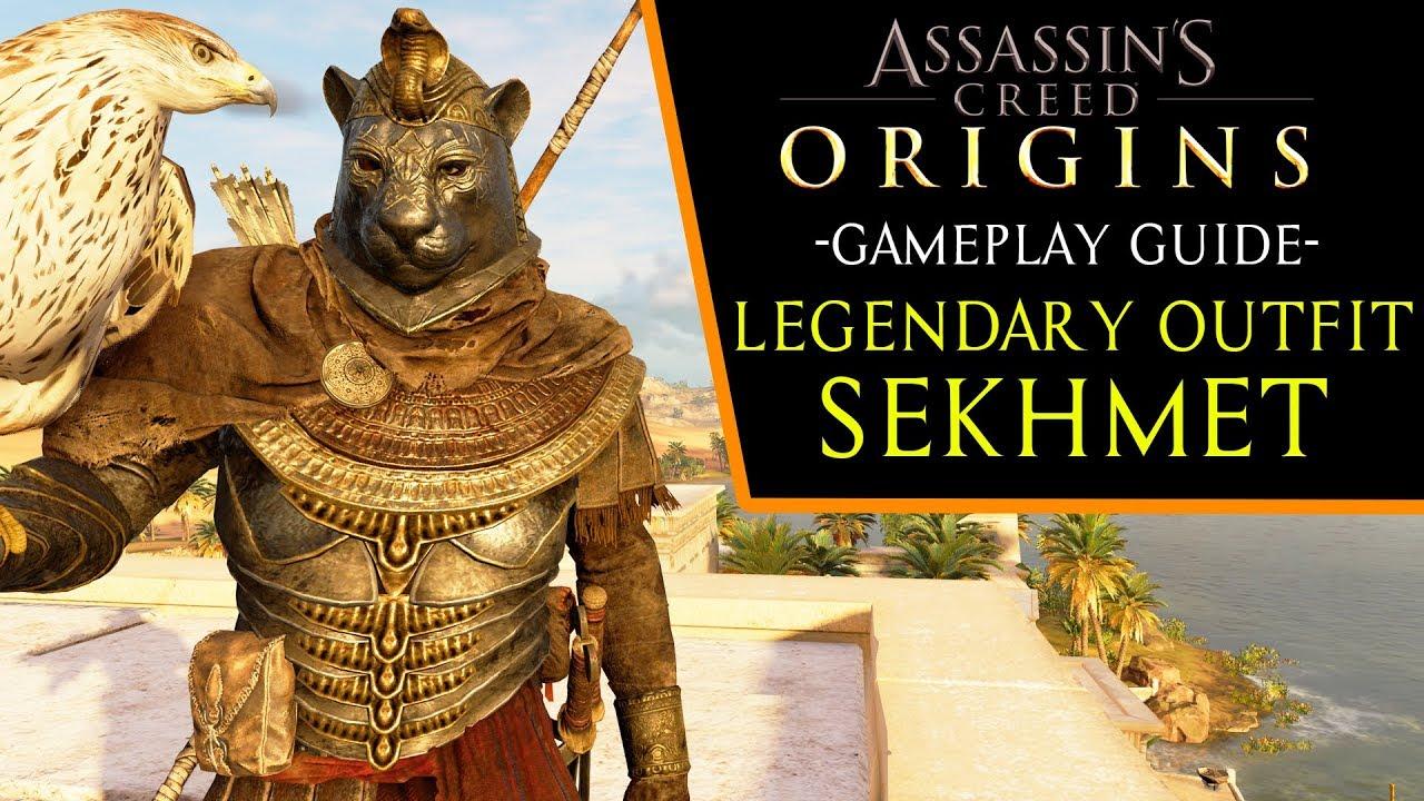 Assassin's Creed: Origins - Sekhmet Legendary Outfit ...