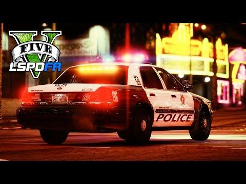 GTA 5 - LSPDFR Ep177 - LAS VEGAS METRO POLICE PATROL!!