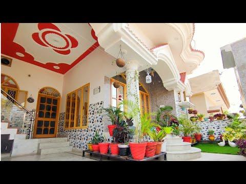 My Home tour   1350 sq feet house tour   My little entrance garden overview   houseplant haul
