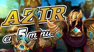 Cómo juega un CHALLENGER a Azir ft. Miniduke   Guia Azir s8   League Of Hexania