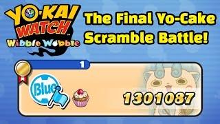 Yo-kai Watch Wibble Wobble - The FINAL Yo-Cake Scramble Battle!