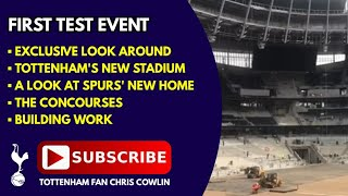 TOTTENHAM'S NEW STADIUM & THE FIRST TEST EVENT AT THE NEW GROUND - 4 August 2018