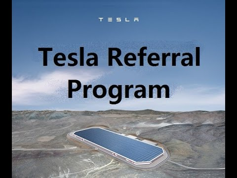 Tesla Motors: Save $1000 on Model S or X Tesla Referral Program July to October
