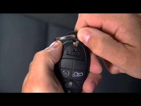 2013 Dodge Challenger Key Fob Youtube