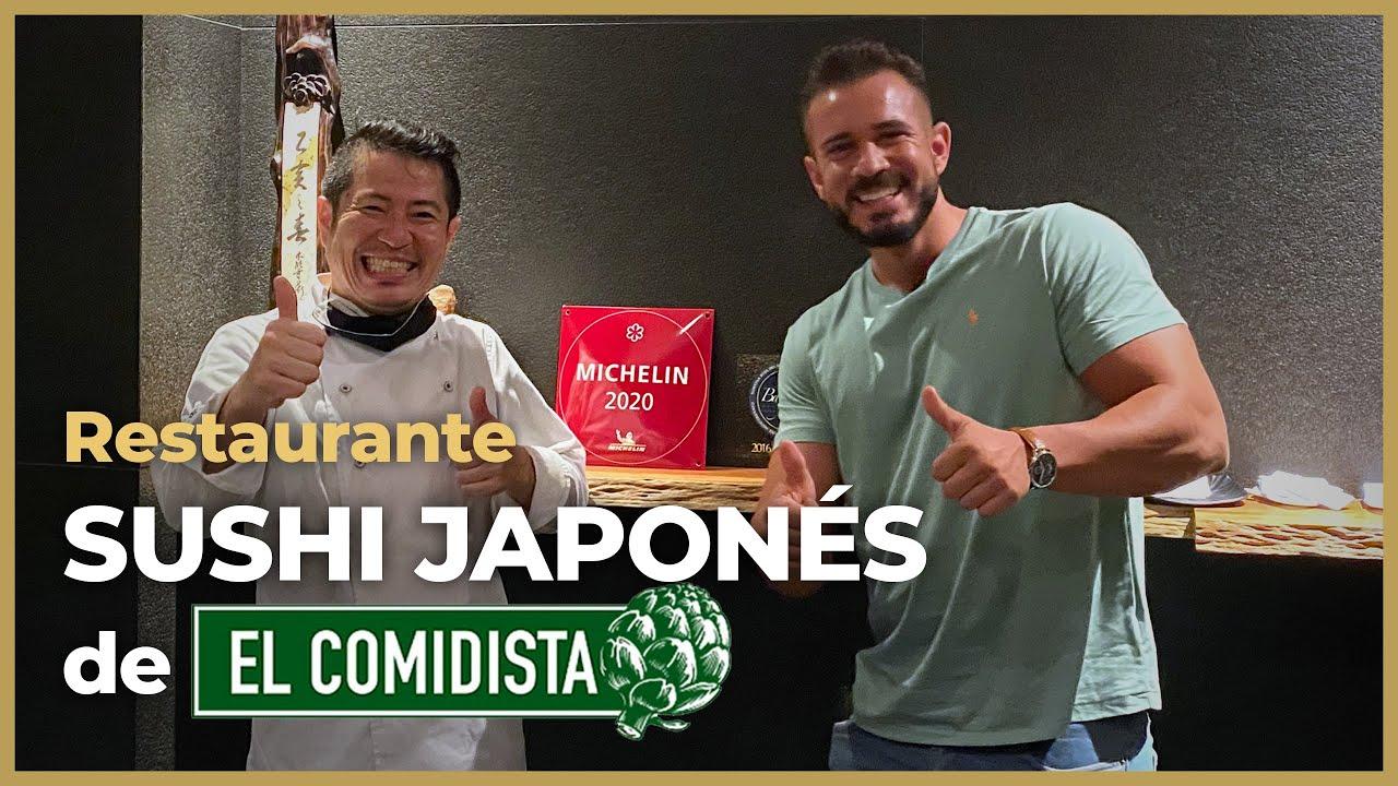 EL SUSHI DEL JAPONÉS DE EL COMIDISTA 🍣