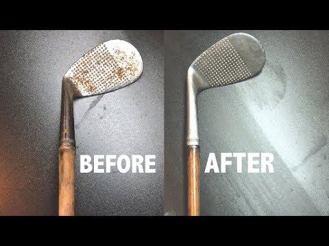 Restoring a vintage Golf Club