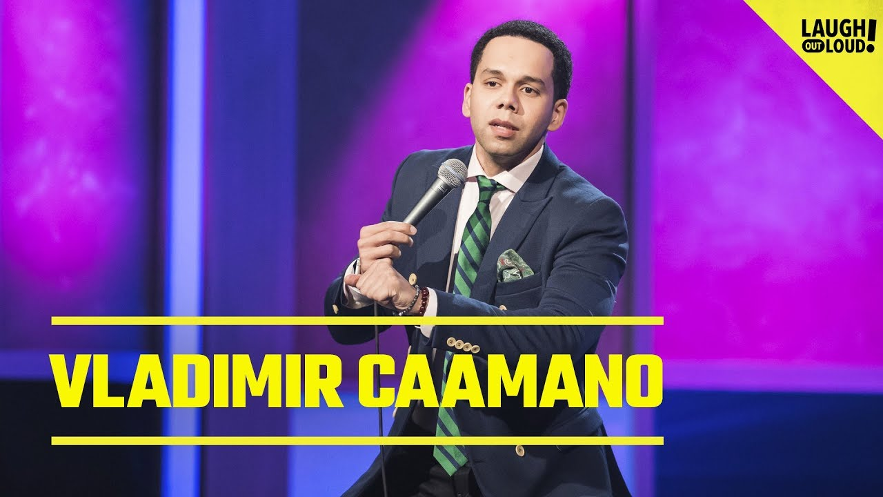 Vladimir Caamano Talks Racial Profiling and Rough Neighborhoods | Just For Laughs