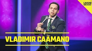 Vladimir Caamano Talks Racial Profiling and Rough Neighborhoods   Just For Laughs