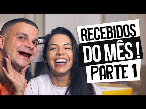 RECEBIDOS DO MÊS - PARTE 1