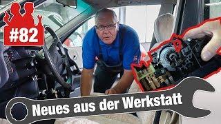Bitter: 700 Euro für Heizungsbedienteil bei einem Audi 80 |Und: Warum sägt der Golf?