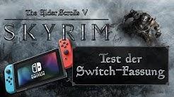 Skyrim Switch Test - neue Features vorgestellt (German/Deutsch)