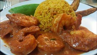 Shrimp in Salsa
