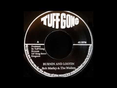 BOB MARLEY & THE WAILERS  Burnin And Lootin 1973
