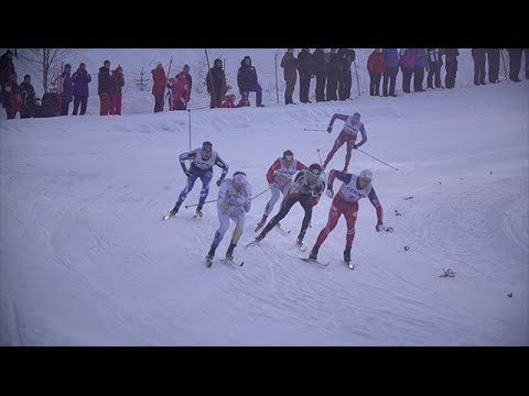 It all begins in ruka - fis cross country - inside the fence