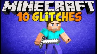 Minecraft 1.6.4 (1.88) 10 Glitches in ONE VIDEO Voice Tutorial [Part 1]