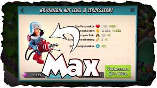 Kryonierin Max Level 8!   BOOM BEACH   Schützen & Sanitäter = Heroes! (Deutsch / German)