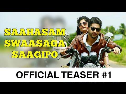 Saahasam Swaasaga Saagipo - Official Teaser #1 | A R Rahman | Naga Chaitanya | Gautham Vasudev Menon