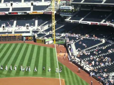 """Play Ball"" San Diego Padres v Colorado Rockies 9/16/2012 @ Petco Park"
