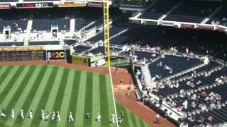 """Play Ball"" San Diego Padres v Colorado Rockies 9/16/2012 @ Petco Park"