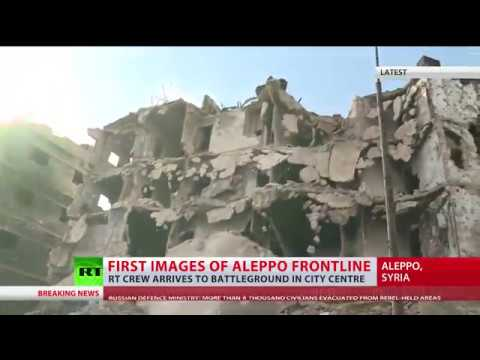 1st images of Aleppo frontline: RT crew reports from war-torn Old City (EXCLUSIVE)