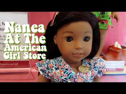 Nanea At The American Girl Store + Haul & Review