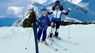 Зимние каникулы Дениса и Мамы
