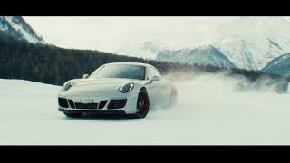 Porsche Ice Experience: St Moritz