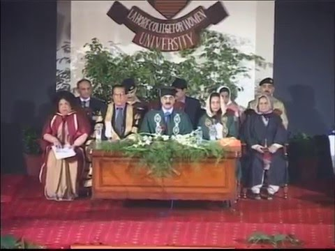 6th Convocation LCWU