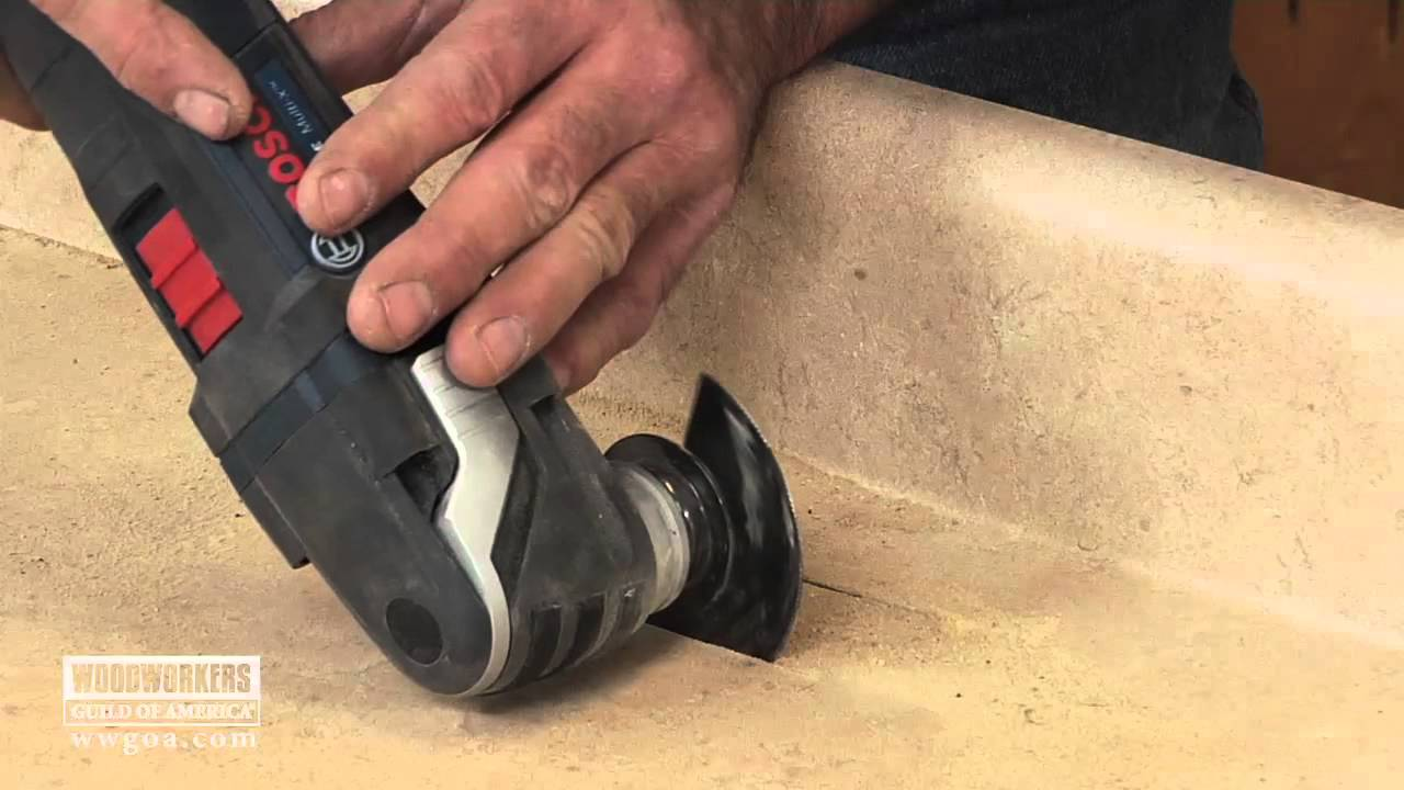Plunge Cutting In A Countertop You