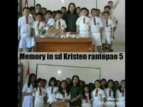 Memory in sd Kristen rantepao 5 tahun 2010-2016