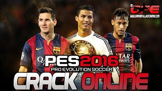 Como baixar e instalar crack online via steam PES 2016 PIRATA!