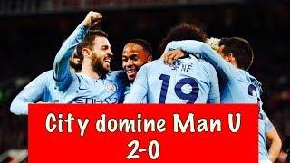 Premier League : Manchester City domine United (2-0) et reprend la première place à Sadio Mané.