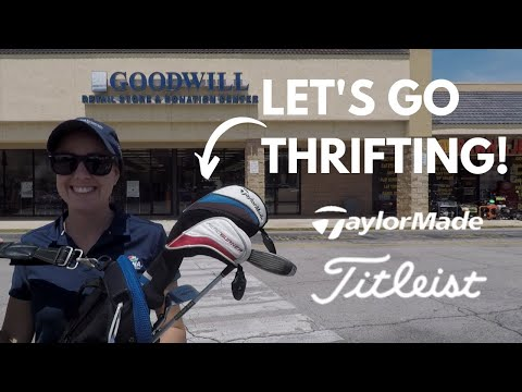 WE GO THRIFTING FOR GOLF CLUBS!! (Surprising!!)