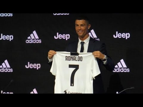 """Ronaldo en presentación con la Juve: """"soy diferente a los demás"""""""