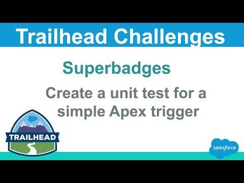Create a unit test for a simple Apex trigger   Salesforce Trailhead