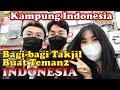 YOUTUBER KOREA BAGI-BAGI TAKJIL BUAT TEMAN-TEMAN INDONESIA DI KAMPUNG INDONESIA